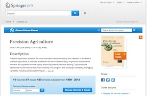 Springer link website